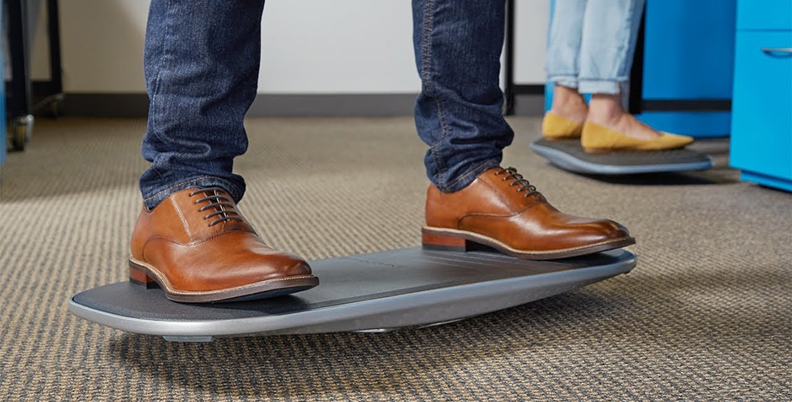 balance board for standing desk