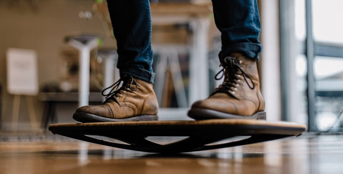 best balance board for standing desk