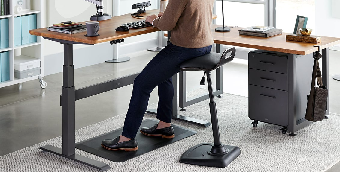 standing desk chair stool