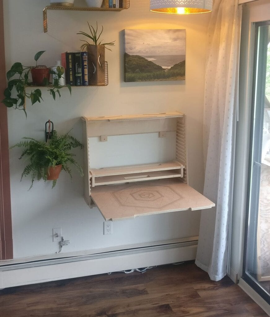 standing desk for small spaces wesk 2